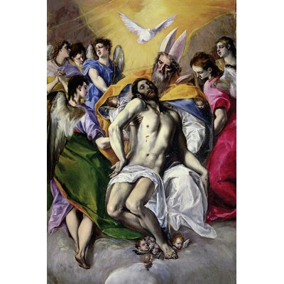 'The Trinity' by El Greco Painting Print on Wrapped Canvas
