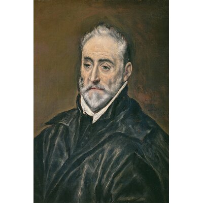 'Portrait of Antonio de Covarrubias y Leiva' by El Greco Painting Print on Wrapped Canvas