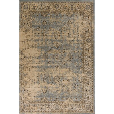 Bailor Gray/Tan Area Rug Rug Size: Rectangle 53 x 77