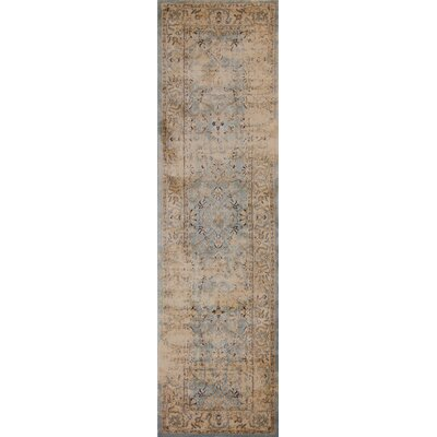 Bailor Gray/Tan Area Rug Rug Size: Runner 23 x 711