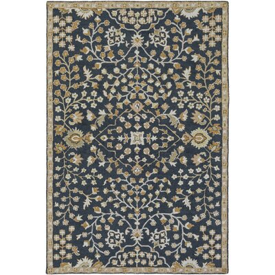 Mccready Hand-Tufted Sea Foam Area Rug Rug size: Rectangle 4 x 6