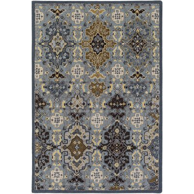 Mccready Hand-Tufted Area Rug Rug size: Rectangle 5' x 7'6