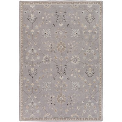 Bloomingdale Gray Area Rug Rug Size: Rectangle 53 x 76