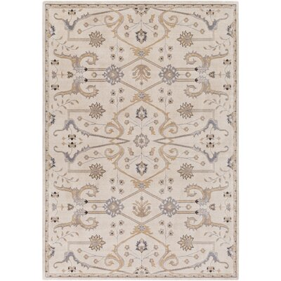 Bloomingdale Neutral/Brown Area Rug Rug Size: 2' x 2'9