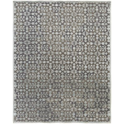 Wellston Hand-Woven Grey Area Rug