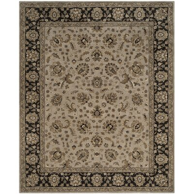 Colliers Hand-Tufted Silver/Charcoal Area Rug