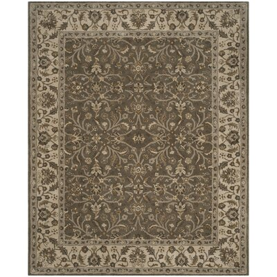 Colliers Hand-Tufted Sage/Beige Area Rug