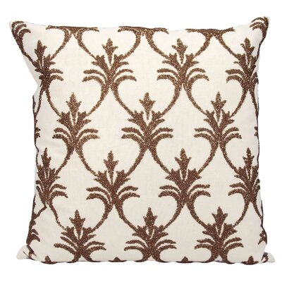 Hutcherson 100% Cotton Throw Pillow Color: Bronze