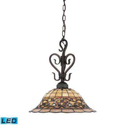 Yorke 1-Light Bowl Pendant