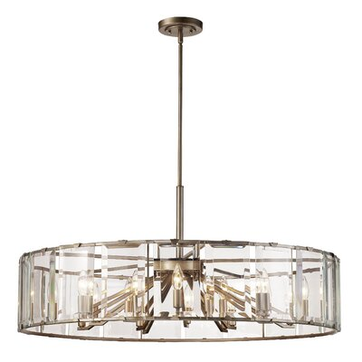 Gabriels Drum Pendant Finish: Polished Chrome
