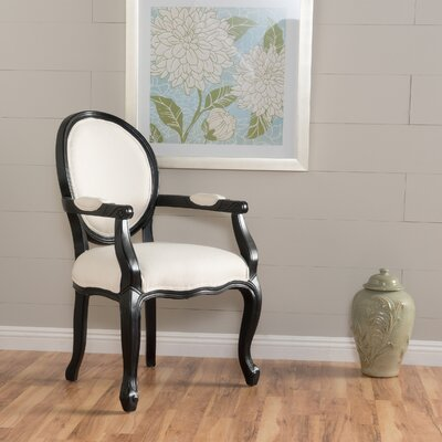Akers Armchair Upholstery: Ivory