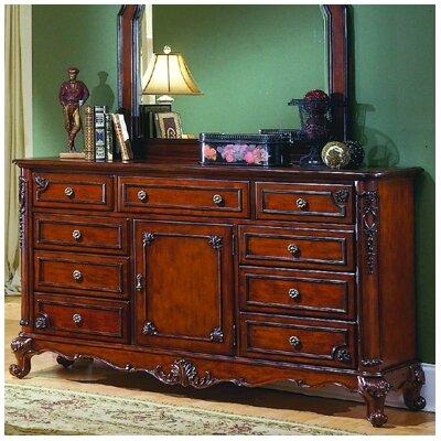Drew 9 Drawer Combo Dresser