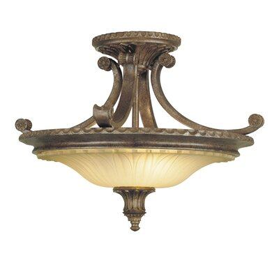 Randall 2 Light Semi Flush Mount