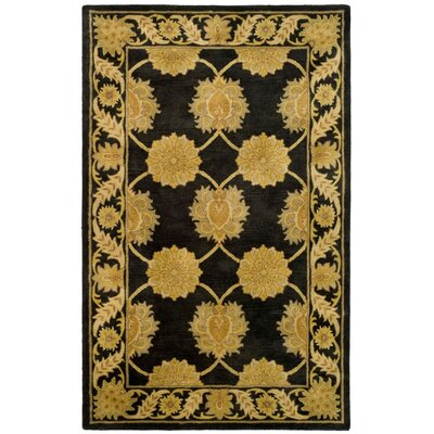 Balthrop Hand-Tufted Charcoal Area Rug