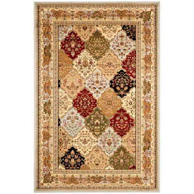 Richborough Gray Area Rug Rug Size: 6 x 9
