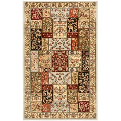 Richborough Gray Area Rug Rug Size: 33 x 53