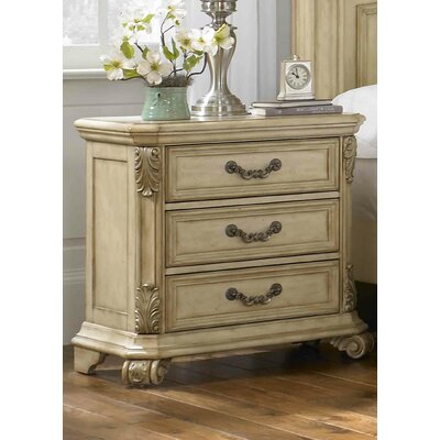Cavas 3 Drawer Bachelor's Chest