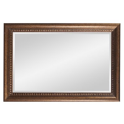 Rectangular Gold Wall Mirror