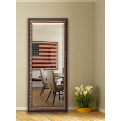 Traditional Cameo Bronze Full Length Beveled Body Mirror