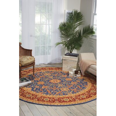 Aletha Square Navy Area Rug
