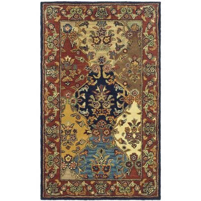 Balthrop Wool Hand Tufted Area Rug Rug Size: 3 x 5