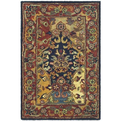Balthrop Wool Hand Tufted Area Rug Rug Size: 2 x 3