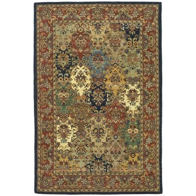 Balthrop Wool Hand Tufted Area Rug Rug Size: 6 x 9