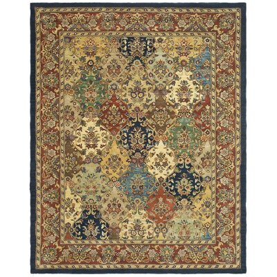 Balthrop Wool Hand Tufted Area Rug Rug Size: 76 x 96
