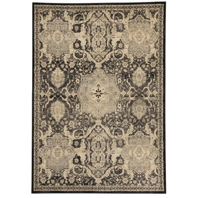 Witton Gray Area Rug Rug Size: 710 x 10