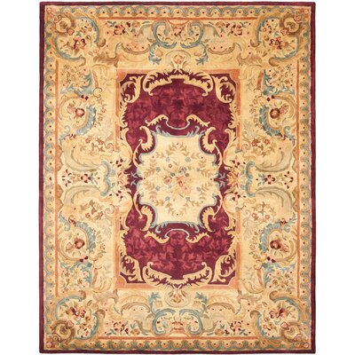 Loren Gold Area Rug Rug Size: Rectangle 6 x 9