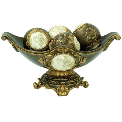 Boris Handcrafted Decorative Decorative Bowl