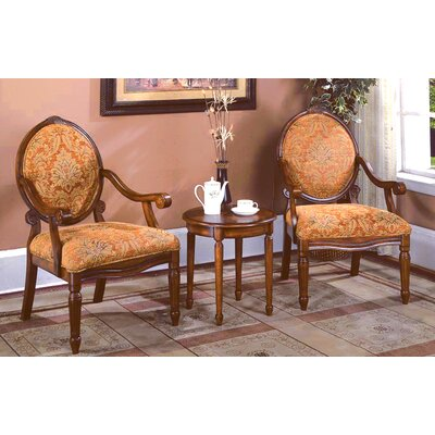 Oreanda 3 Pieces Living Room Armchair Set