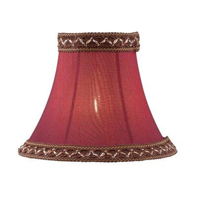 6 Fabric Bell Candelabra Shade