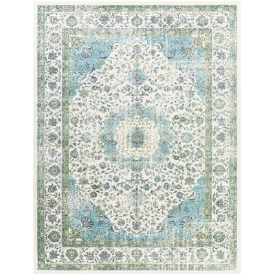 Barlett Charcoal/Lime Area Rug
