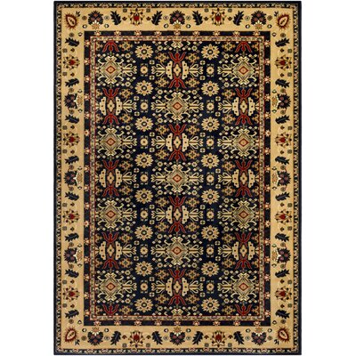 Batchelder Blue/Beige Area Rug Rug Size: Rectangle 5 x 76