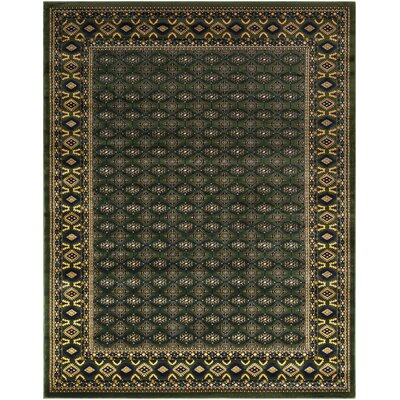 Batchelder Green Area Rug Rug Size: Rectangle 8 x 10