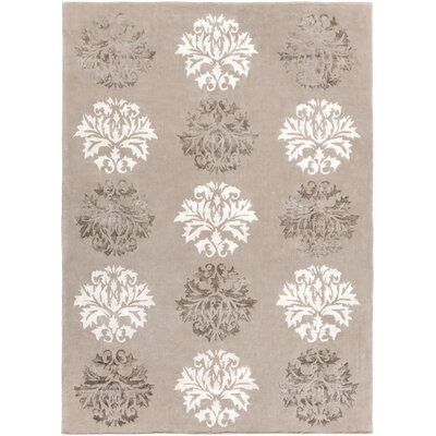 Mackenzie Hand-Woven Natural Area Rug Rug Size: Rectangle 8 x 11