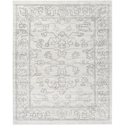Cernobbio Hand-Woven Gray Area Rug Rug Size: 8 x 10