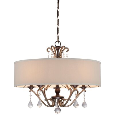 Bayle 5 Light Drum Pendant