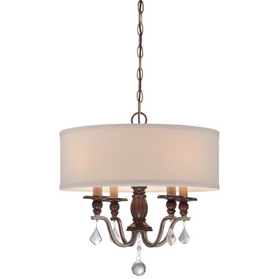 Bayle 4 Light Drum Pendant