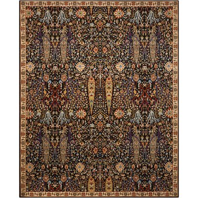 Charleson Navy Area Rug Rug Size: 86 x 116