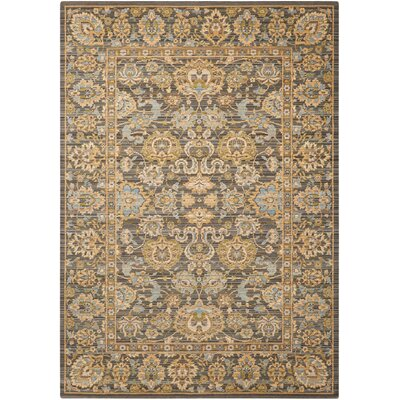 Charleson Light Blue Area Rug Rug Size: 56 x 8