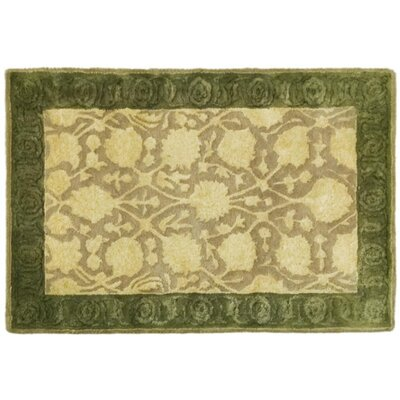 Bellview Ivory/Sage Area Rug Rug Size: Rectangle 2 x 3