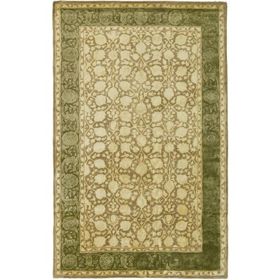 Bellview Ivory/Sage Area Rug Rug Size: 2'6