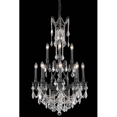 Almont 12-Light Crystal Chandelier Crystal Color / Crystal Trim: Crystal (Clear) / Spectra Swarovski