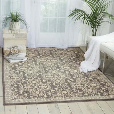 Castanada Graphite Area Rug Rug Size: Rectangle 36 x 56