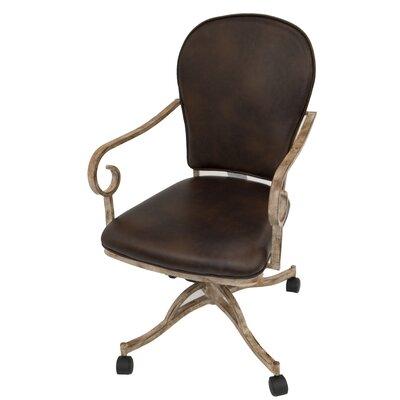 Hopeworth Caster Arm Chair