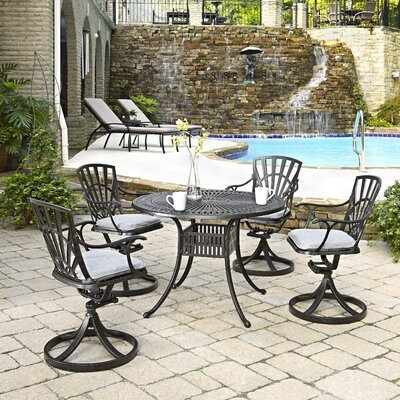Frontenac 5 Piece Dining Set with Cushion