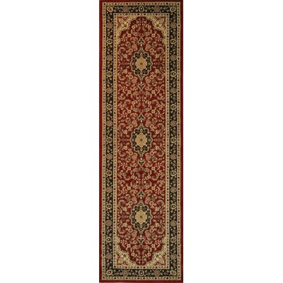 Cobbins Medallion Multi-Colored Area Rug Rug Size: Runner 23 x 73