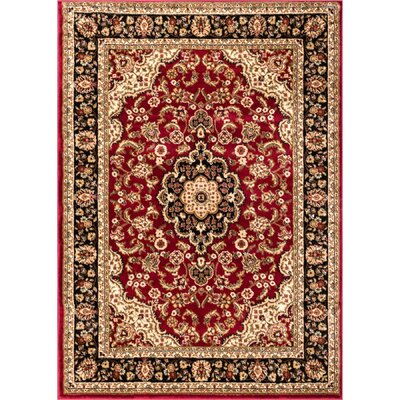 Cobbins Medallion Multi-Colored Area Rug Rug Size: 311 x 53